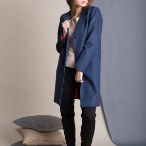 BLUE RED COAT